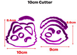 Paw Patrol Face Everest Fondant Cookie Cutter 5cm 7cm 10cm Cake Decorating