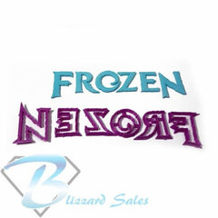 Frozen Logo Cookie Fondant Cutter 3cm 4cm 5cm Birthday Cake Decorating Tools