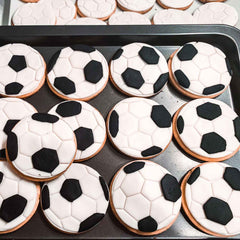 Soccer Ball Cookie Fondant Cutter