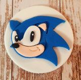 Sonic The Hedgehog Face Cookie Fondant Cutter