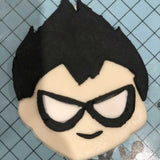 Teen Titans Robin Cookie Fondant Cutter