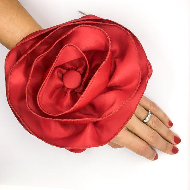 PULSETA-RED-ROSE-WRISTLET-CLUTCH-BOLSO