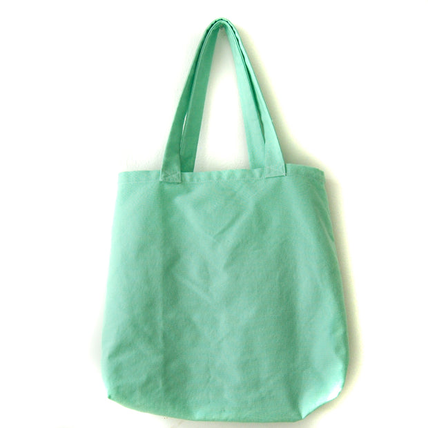 SUSTAINABLE TOTE EMERALD