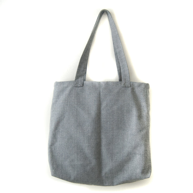 SUSTAINABLE TOTE GREY