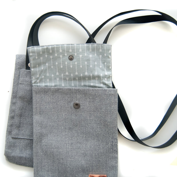DOUBLE BAG GREY
