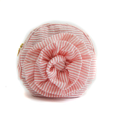 PULSETA -TOTE ROSE PINK STRIPES