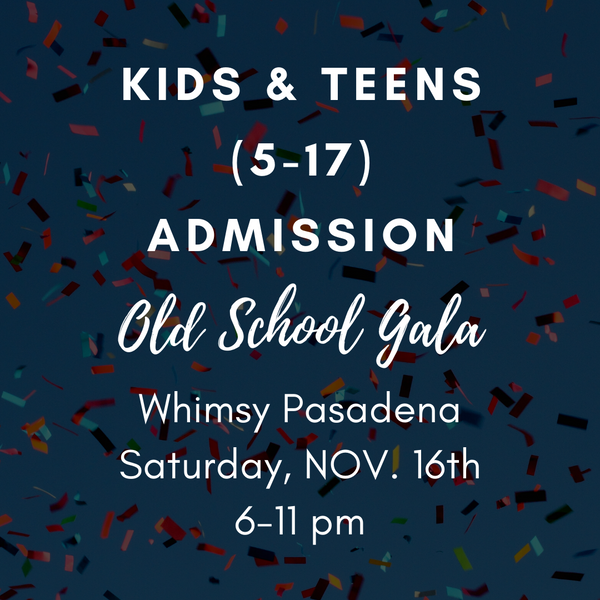 Gala Admission-Kids & Teens