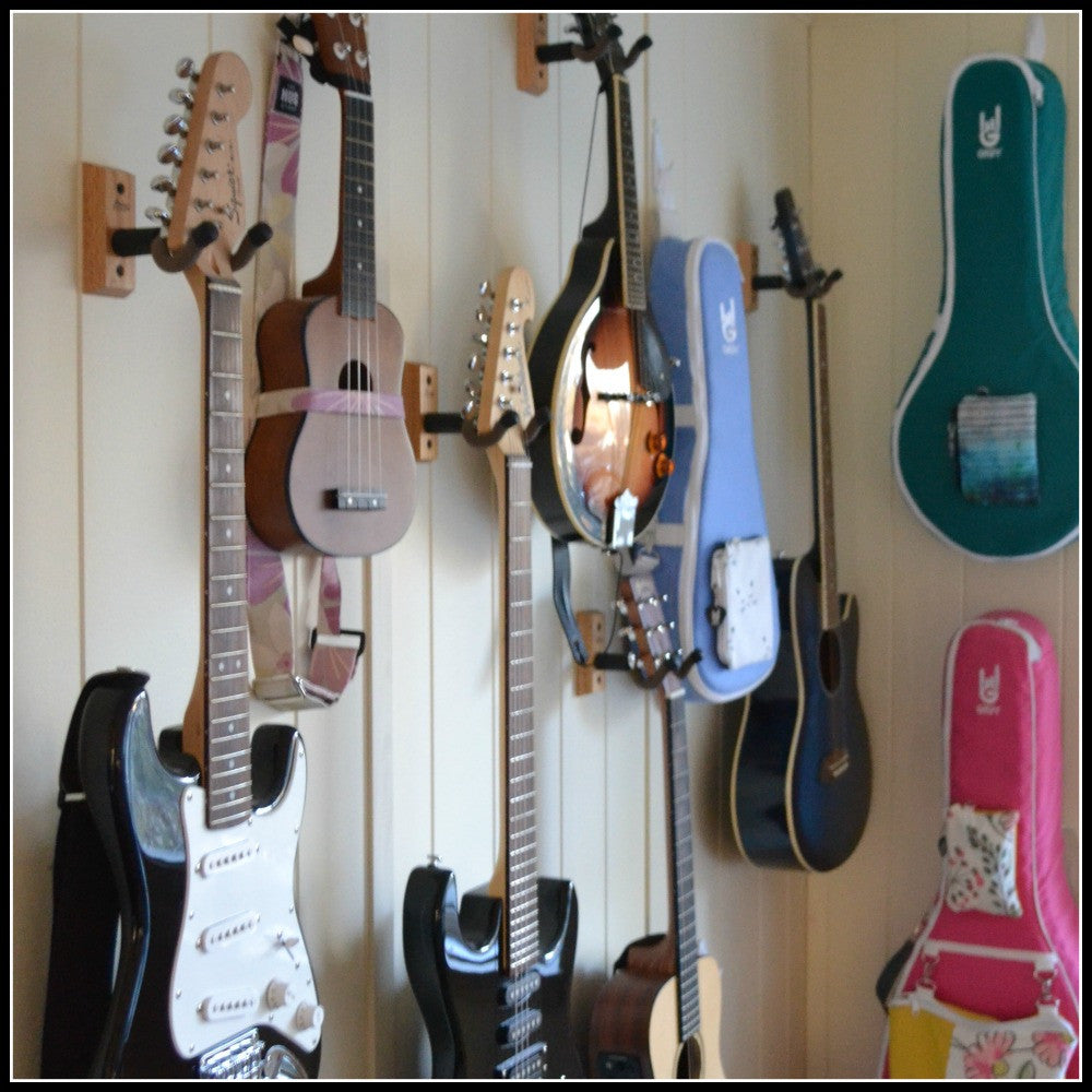 Guitar and Ukulele Display