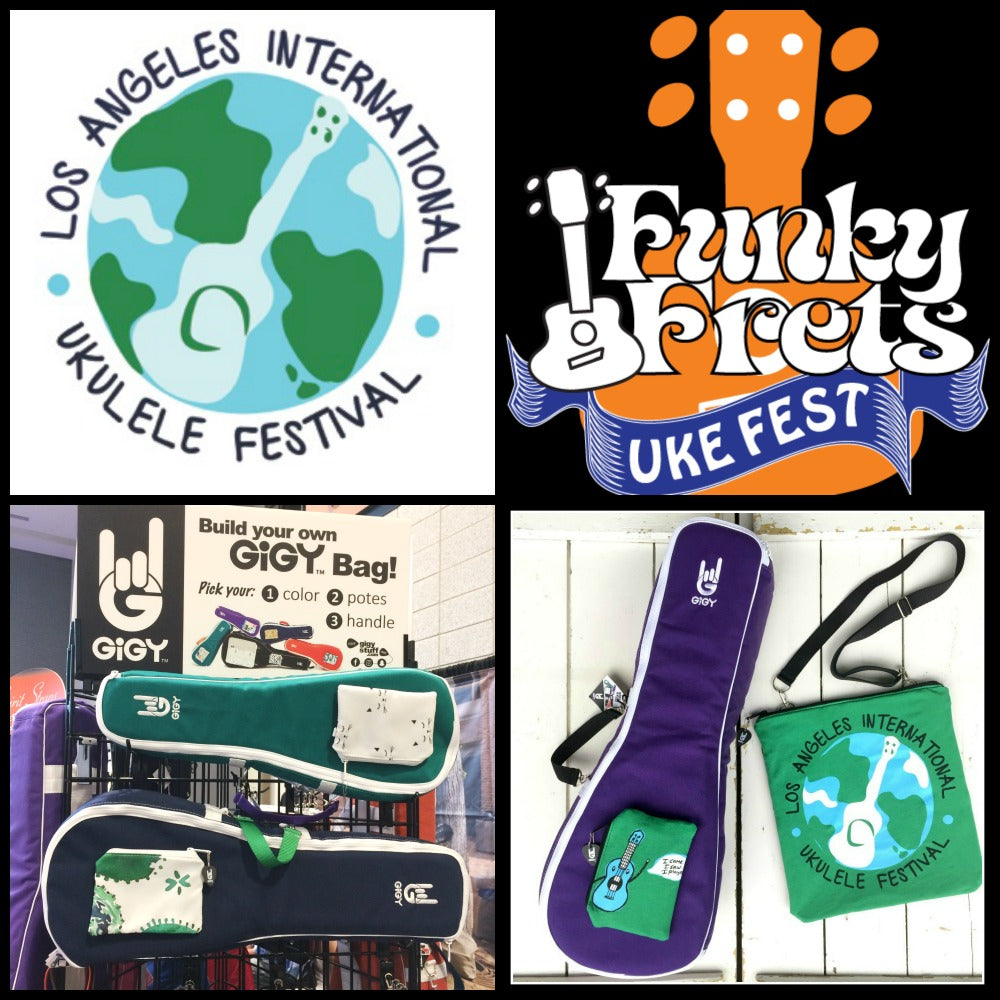 East and West Coast Ukulele Festivals!