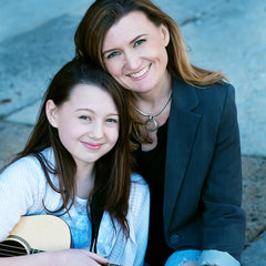 Jen and Madeleine Anderson, GiGY Ukulele and Guitar Cases