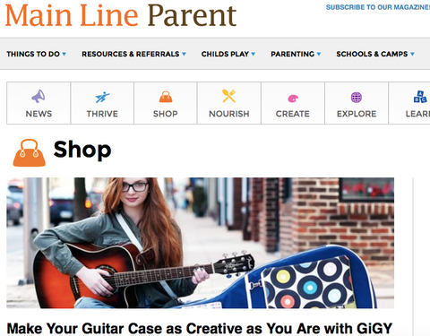 GiGY™ feature on Main Line Parent