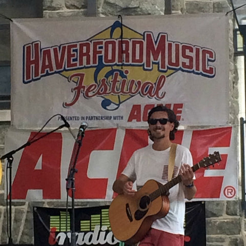 Vinnie Paolizzi at the Haverford Music Festival