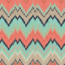 GiGY™ Mini Pote Coral, Mint, and Navy Chevron