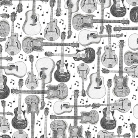 GiGY® Mini Pote B&W Guitars