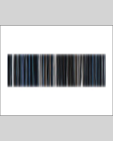 Alien - Movie Barcode