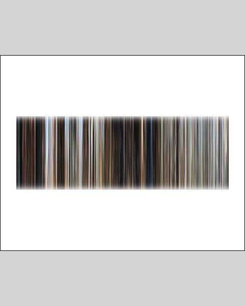 Back to the Future, Part 3 - Movie Barcode