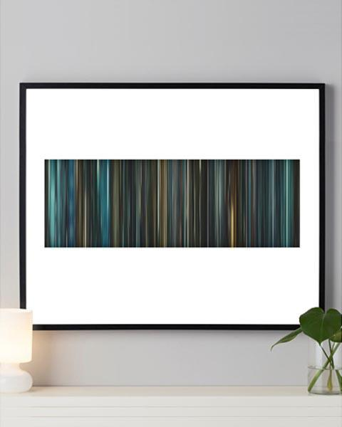 Blade Runner - Movie Barcode