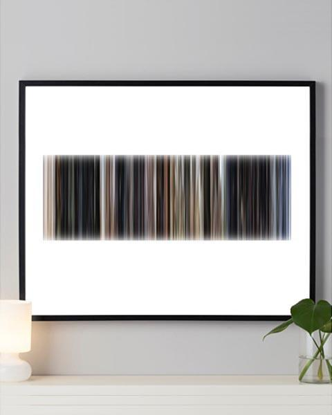 Close Encounters of the Third Kind - Movie Barcode