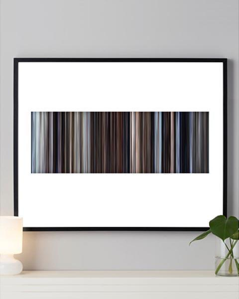 Eternal Sunshine of the Spotless Mind - Movie Barcode