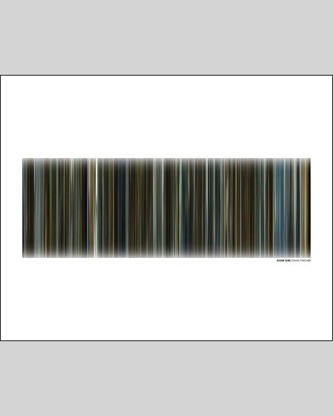 Gone Girl - Movie Barcode