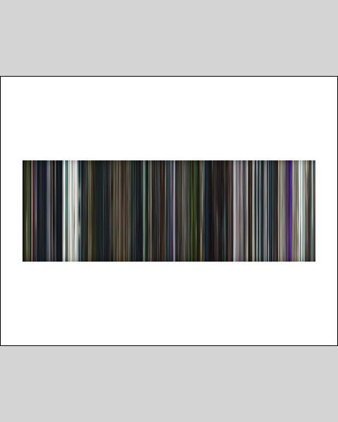 Guardians of the Galaxy - Movie Barcode