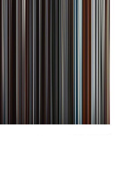 Inception - Movie Barcode