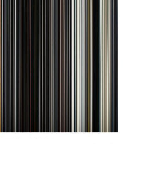 Interstellar - Movie Barcode
