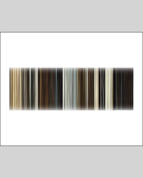 James Bond, Spectre - Movie Barcode