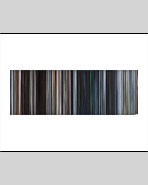 Mission Impossible II - Movie Barcode