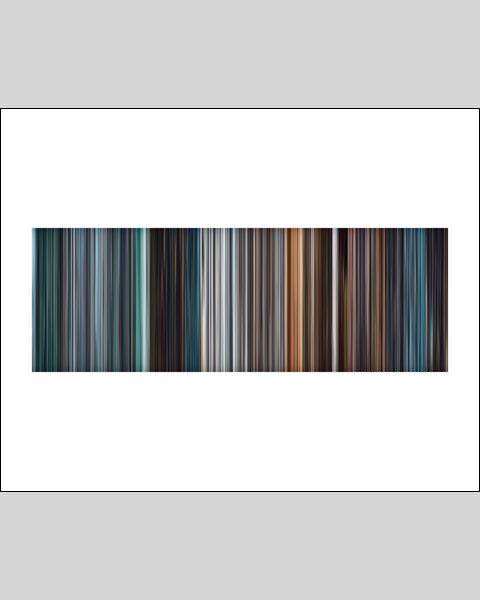 Mission Impossible, Ghost Protocol - Movie Barcode