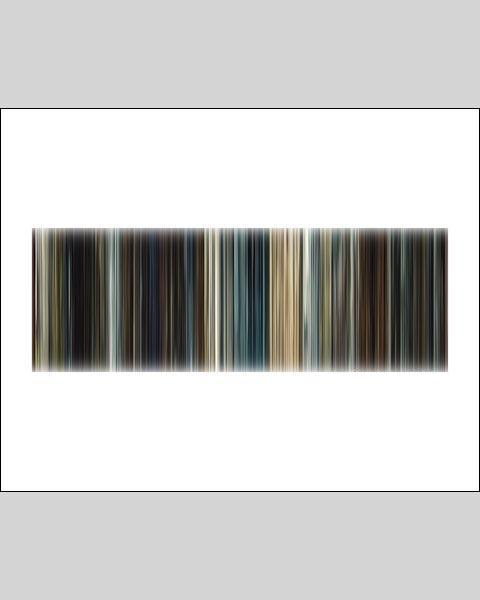 Mission Impossible, Rogue Nation - Movie Barcode