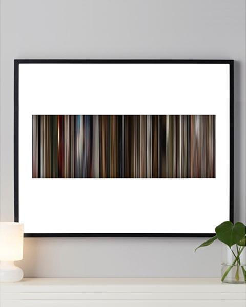 Pulp Fiction - Movie Barcode