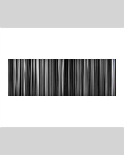 Schindlers List - Movie Barcode