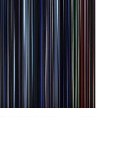 Star Wars Episode VI, The Return of the Jedi - Movie Barcode
