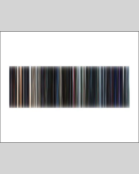 Star Wars Episode VII, The Force Awakens - Movie Barcode