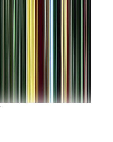 The Animatrix - Movie Barcode