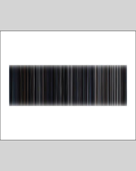 The Avengers - Movie Barcode