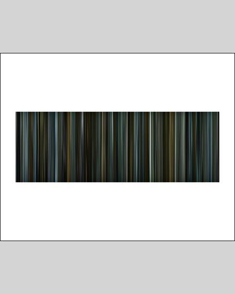 The Girl with the Dragon Tattoo - Movie Barcode