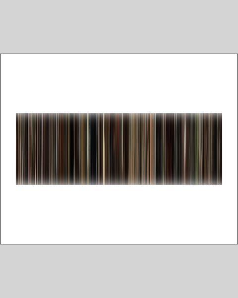 The Godfather, Part 1 - Movie Barcode