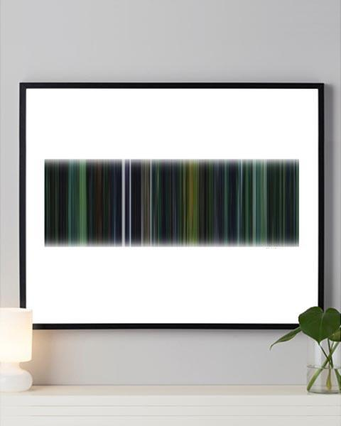 The Matrix - Movie Barcode