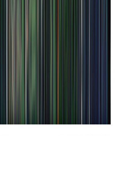 The Matrix Reloaded - Movie Barcode
