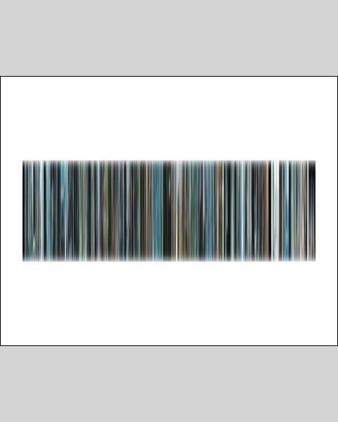 The Secret Life of Walter Mitty - Movie Barcode
