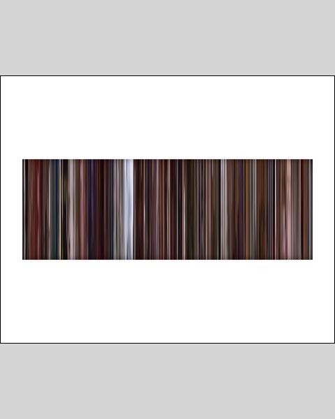 Trainspotting - Movie Barcode