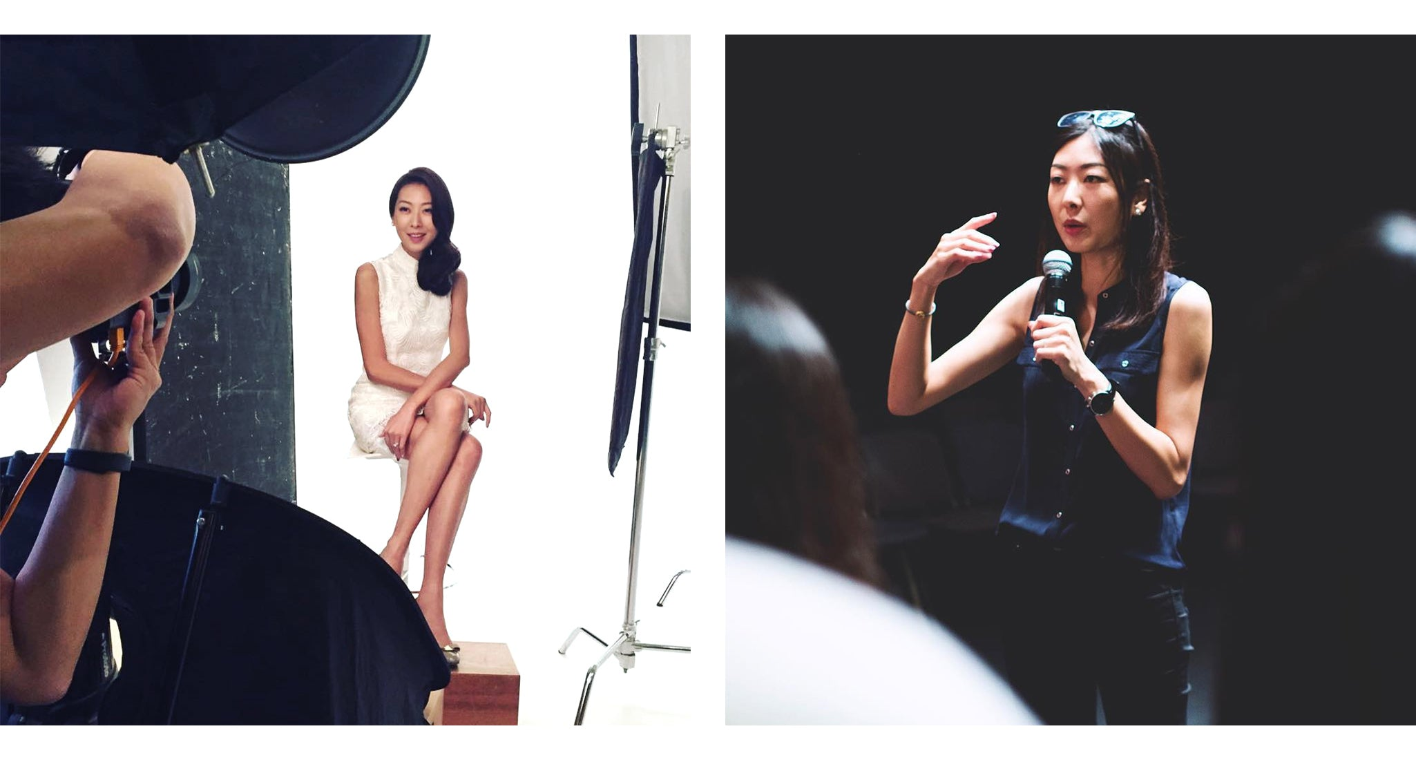 YI-MING X ESEMBLE Meet the Girl Grace Choi, Founder and Designer of Yi-ming, Model & Event Producer