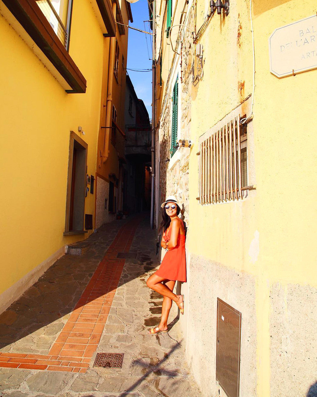 ESEMBLE Traveler Series Natasha Huang Smith, Fashion PR Consultant & Travel Writer Manarola, Italy