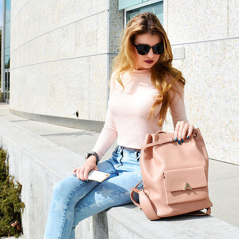 cc mason dash backpack blush esemble