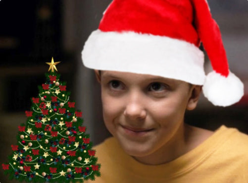 Esemble Journal Holiday Series Top 5 Christmas Movies: Stranger Things Meme Eleven