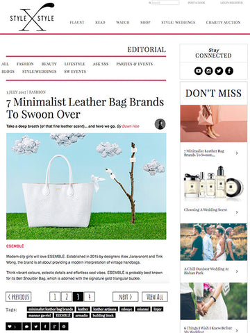 esemble press july 2017 ada40 tote in pulp stylexstyle