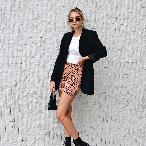 esemble seen on Melissa Soto AW19 Rei Mini Tote in Black Croc Embossed 29102019