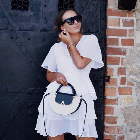 esemble seen on SS18 Demi Moon Bag in Canvas-Black_May23052018 Dorota Gach